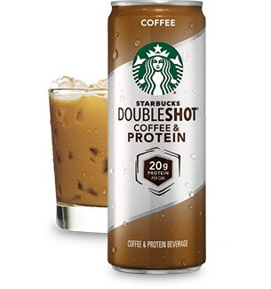 Starbucks Doubleshot Coffee and Protein, 11 Ounce Cans (Pack of 12)