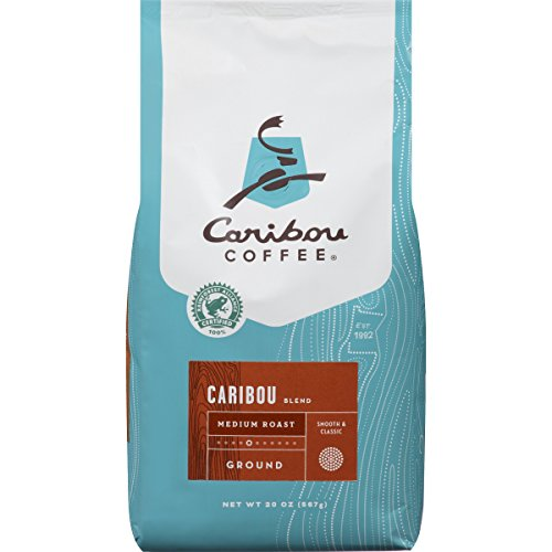 Caribou Coffee Caribou Blend Ground Medium Roast, 20 Ounce bag