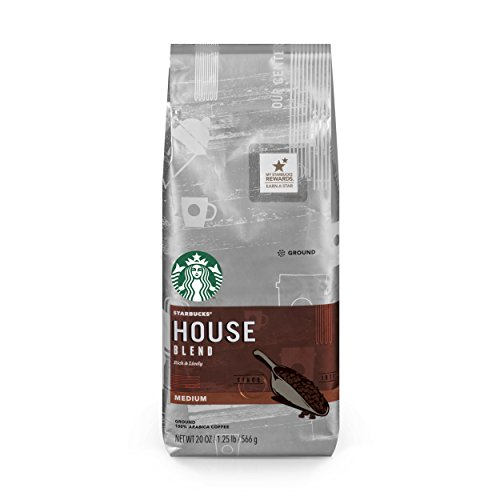 Starbucks House Blend Coffee, Ground, 20-Ounce Bags