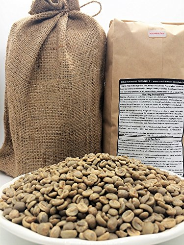 5 LBS � ETHIOPIA YIRGACHEFFE IN A BURLAP BAG- Farm: ECX Coffee, Washed, 2200M, Floral, Fruity, Bright, Unique/Distinctive, Specialty-Grade Green Unroasted Whole Coffee Beans for Home Coffee Roasters